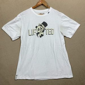Lifted Print LRG Tee White - 2000's